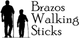 Official Brazos Walking Sticks logo